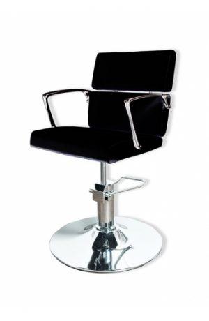 Radna stolica LENA  6927 - P4(KRUG) crna