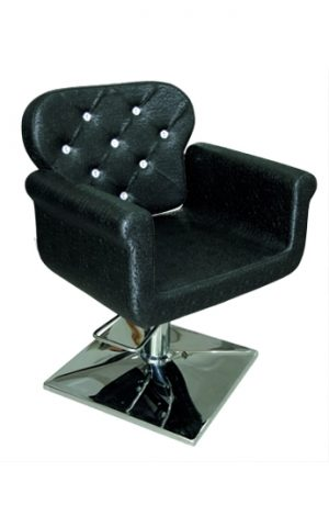 Radna stolica LOA 8096 - P1(KOCKA) crna