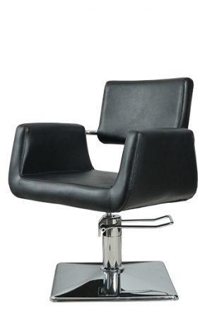 Radna stolica PLATTE  6916 - P1(KOCKA) crna