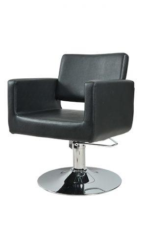 Radna stolica OKA  6926 - P4(KRUG) crna