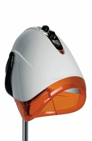 Hauba podna EGG bela/narandžasta