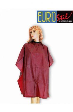Ogrtač za šišanje i farbanje crveni  1988/73