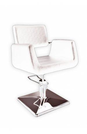 Radna stolica PLATTE  6916 - P1(KOCKA) bela