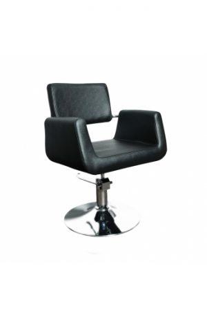 Radna stolica PLATTE  6916 - P4(KRUG) crna